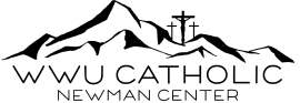 st wwu catholic newman center logo